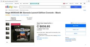 eBay Genesis 800