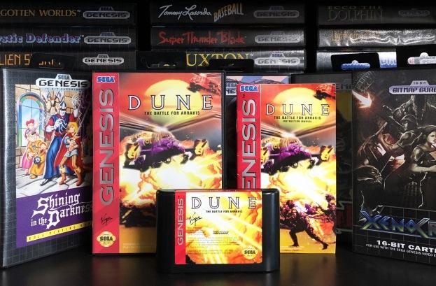 Sega Genesis Dune 01