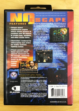 Sega Genesis No Escape 03