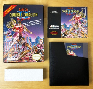NES Double Dragon II CIB 02