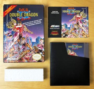NES Double Dragon II CIB 02