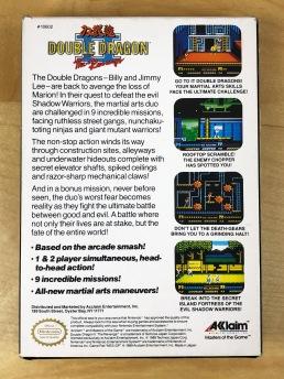 NES Double Dragon II CIB 03