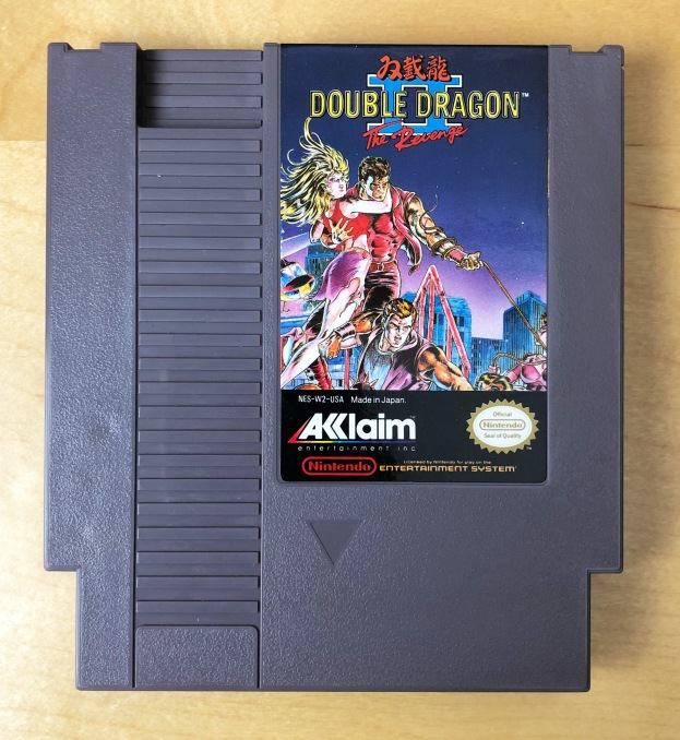 NES Double Dragon II CIB 04